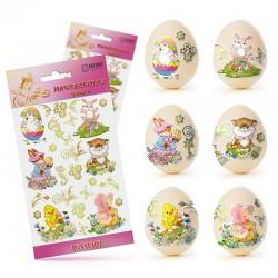 Наклейки для яиц (Детские)