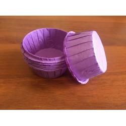 Бумажная форма капсула  с усиленным бортом