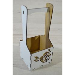 Деревянные корзины для цветов