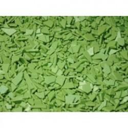 Осколки шоколадные зеленые