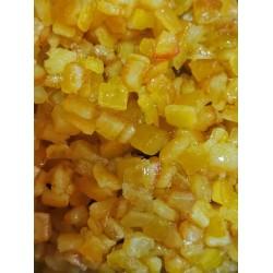 Апельсиновые цукаты кубики