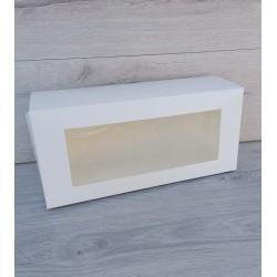 Коробка для рулетов с окном 330*150*110