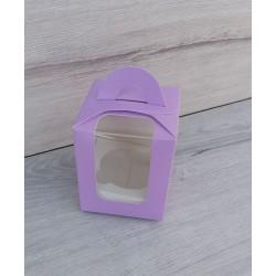 Коробка для кексів 1 од бузкова