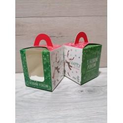 Коробка для  1 кекса музики