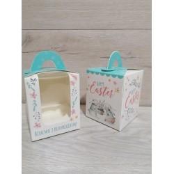 Коробка для кексів 1 од Зайці