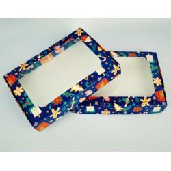 Коробка для пряників 150*200*30 Новорічна