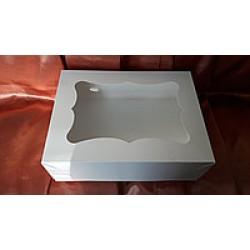 Коробка с окном 330х255х110