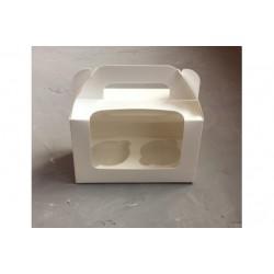 Коробка для кексов 2 шт
