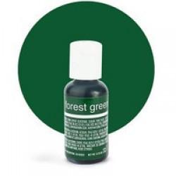 Гелевый краситель Chefmaster Forest Green / Зеленый лес