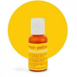 Гелевый краситель Chefmaster Lemon Yellow / Желтый Лимон