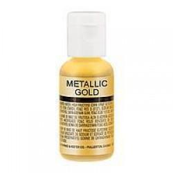 Блискучий барвник Chefmaster  METALLIC SILVER / золотий металік