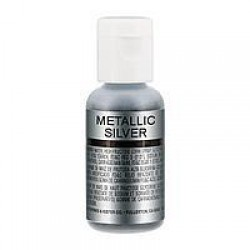 Блискучий барвник Chefmaster  METALLIC SILVER / срібний металік