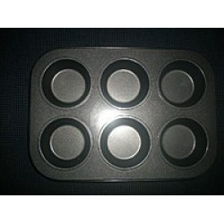 Металлическая форма Маффин классический планшет 6 шт
