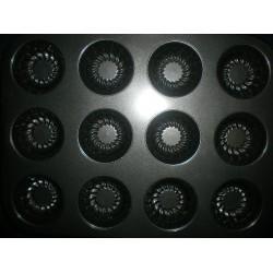 Металлическая форма Маффин ребристый планшет