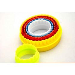 Вырубка пластик круги