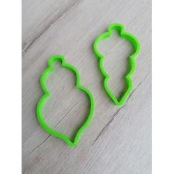 Вырубка пластик Набор игрушек
