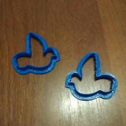 Вырубка пластиковая Голуби