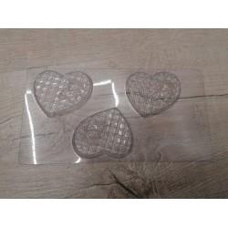 Пластиковая форма для шоколада Мишка на подушке