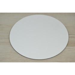 Подставка круглая усиленная.18 см двп белый.