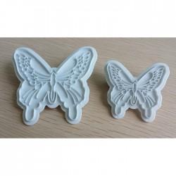 Вырубка бабочки 2 шт