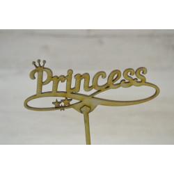 Топпер для торта Princess.