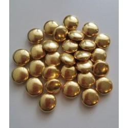 Шоколадное Конфетти золото 15 мм