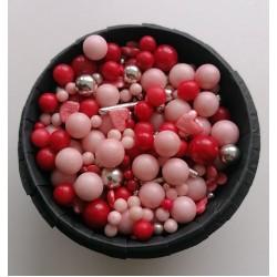 Цукрові кульки мікс Рожевий пунш