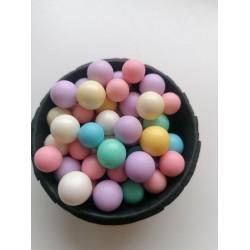 Кульки глянцеві  ассорти пастель