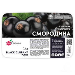 Заморожене пюре Смородина Чорна